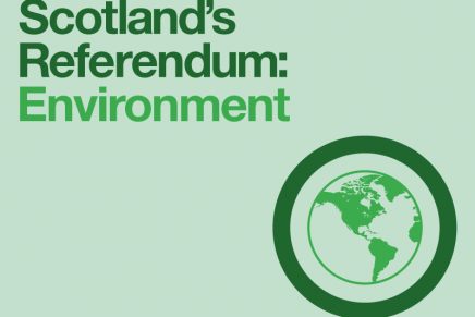 Scotland's Referendum: Environment