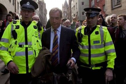 Editorial: Nigel. Homeward bound.
