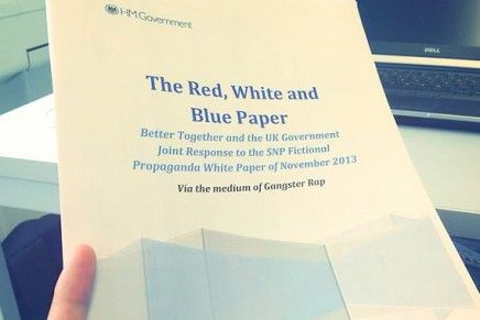 UK Government To Release Their Red, White & Blue Paper