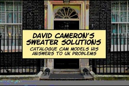 David Cameron's Sweater Solutions