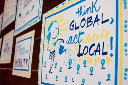 Think Global; Act Local: A Post-National Cultural-Ecological Perspective