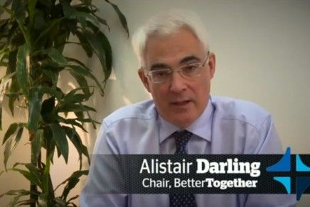Influence and Control: Q&A with Alistair Darling