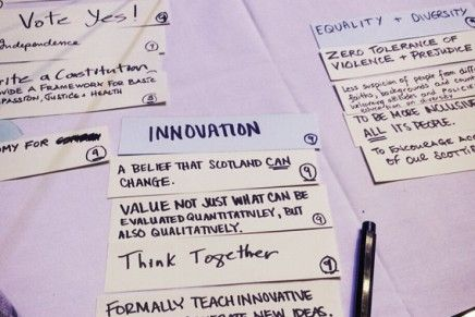 Creating a Space for a Different Scottish Future