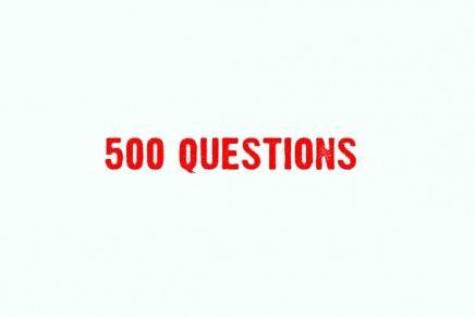 #500questions
