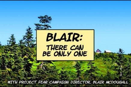Blair: There Can Be Only One
