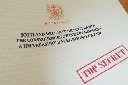 Scotland will not be Scotland: Consequences of Independence Revealed in Top Secret Document