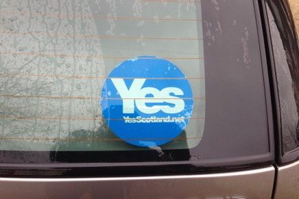 Gary Marshall: So yeah, there's a Yes sticker in the back of my car